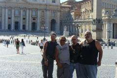 verso il gargano seconda tappa, Roma a casa di elefantebruno
