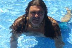 Bagno in piscina