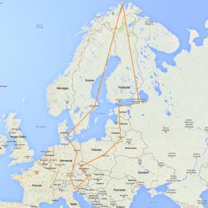 Viaggio in Europa 2016