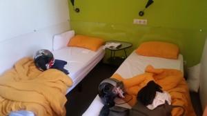 146) ahhh finalmente ci hanno cambiato la stanza